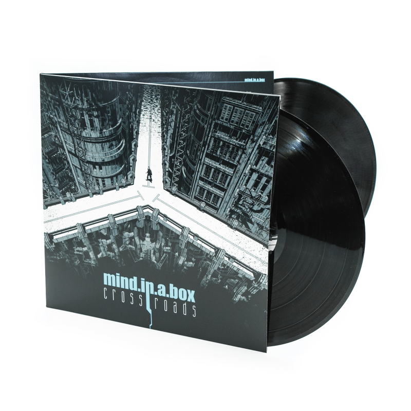 mind.in.a.box - Crossroads Vinyl 2-LP Gatefold  |  Black
