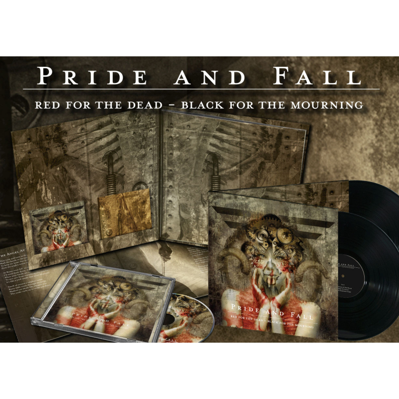 Pride And Fall - Red For The Dead - Black For The Mourning Vinyl 2-LP Gatefold + 2-CD