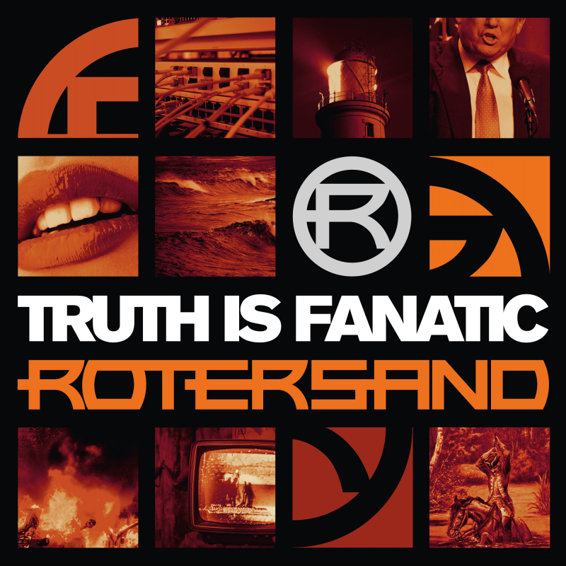 Rotersand - Truth Is Fanatic Vinyl 2-LP Gatefold     Red Transparent