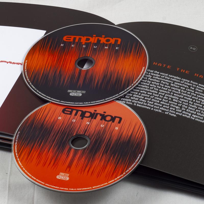 Empirion - RESUME Book 2-CD
