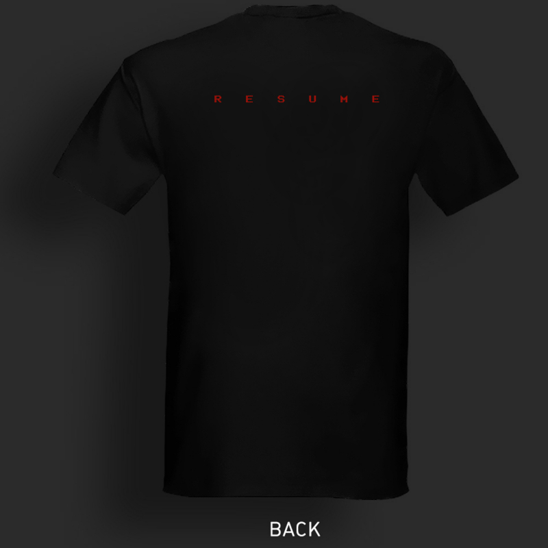 Empirion - RESUME T-Shirt  |  S  |  Black