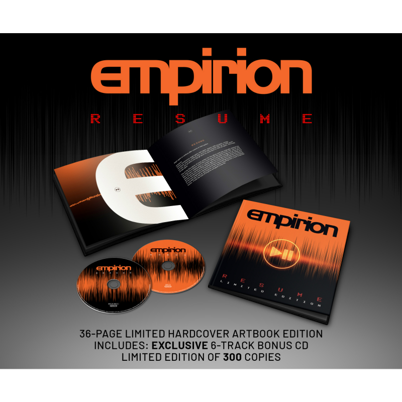Empirion - RESUME Book 2-CD