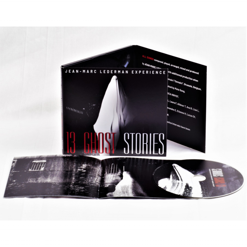 Jean-Marc Lederman Experience - 13 Ghost Stories CD Digipak