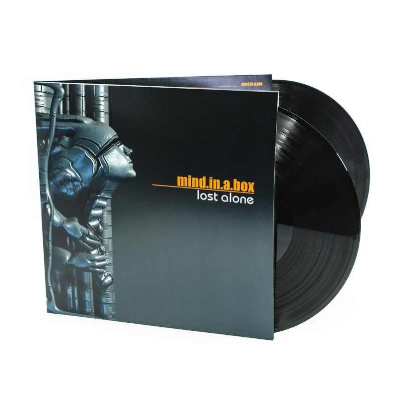mind.in.a.box - Lost Alone Vinyl 2-LP Gatefold  |  Black