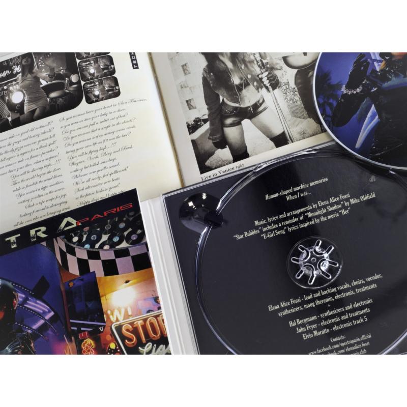 SPECTRA*paris - Retromachine Betty CD Digipak