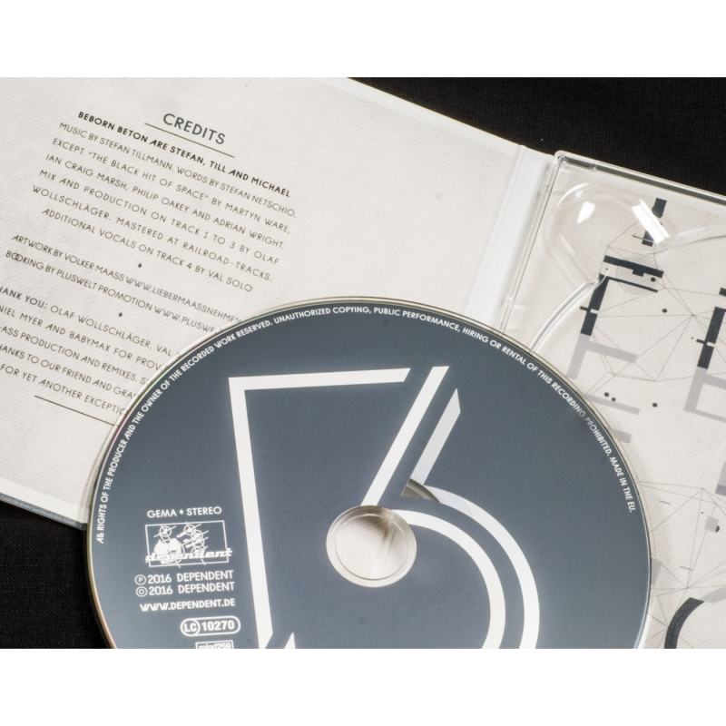 "Beborn Beton - She Cried Vinyl 12"" EP"
