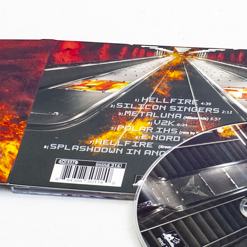 Kirlian Camera - Hellfire CD Digipak
